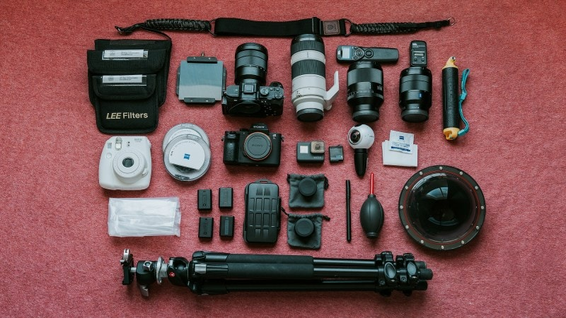 Travel Photography Gear – What's In My Camera Bag