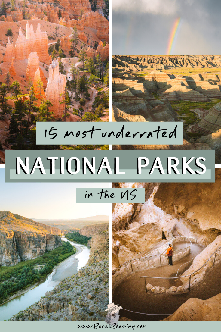 The 15 Most Underrated National Parks in America