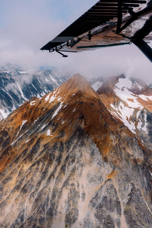 5 Epic Alaska Hiking and Backpacking Adventures Lake Clark National Park Scenic Flight Renee Roaming 2