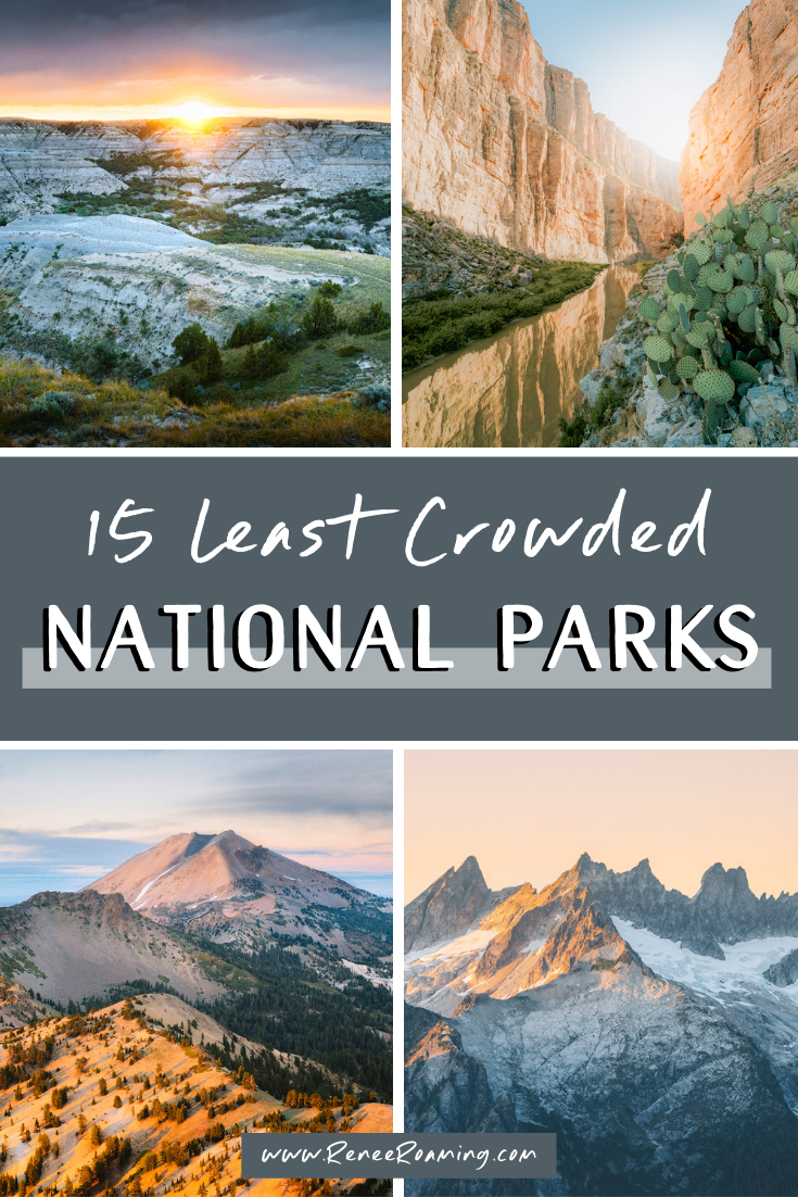 15 Least Crowded National Parks in the US (and Why You Need To Visit Them!)