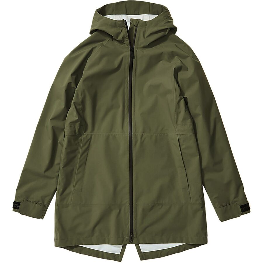 East Coast Fall Road Trip - What to Pack - Marmot Rain Jacket Green