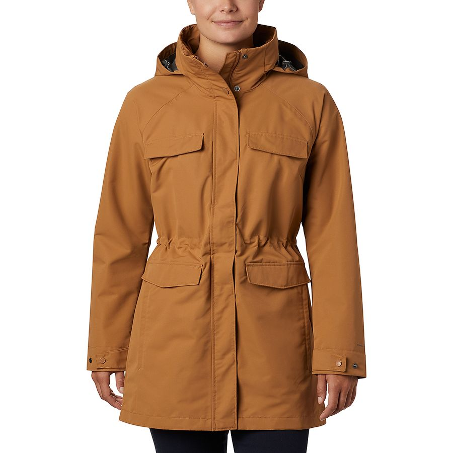 East Coast Fall Road Trip - What to Pack - Parka Rain Coat