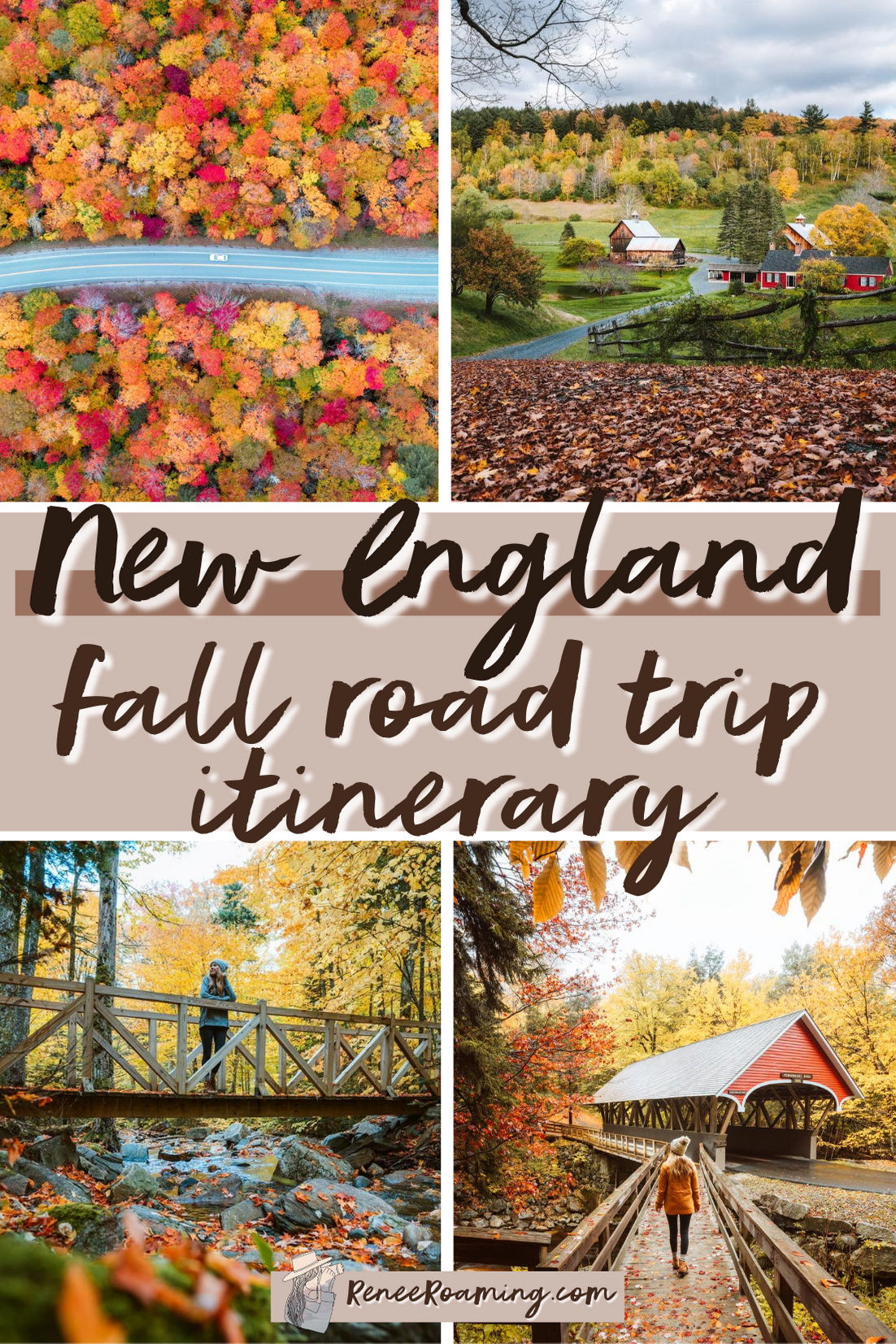 The ULTIMATE New England Fall Road Trip Itinerary