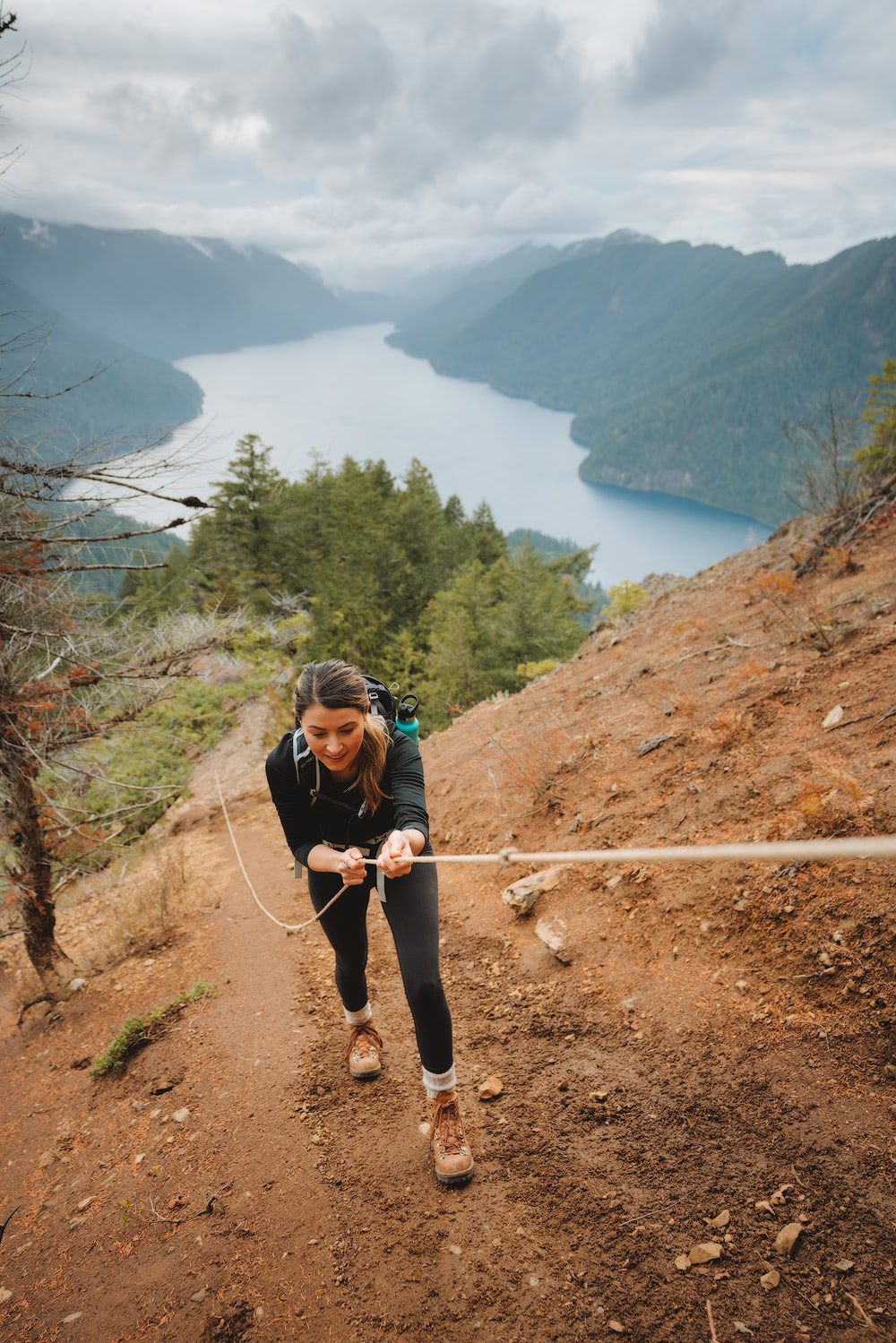 Olympic National Park Adventure Getaway 24 Hour Itinerary from Seattle Renee Roaming Mount Storm King Hike 4