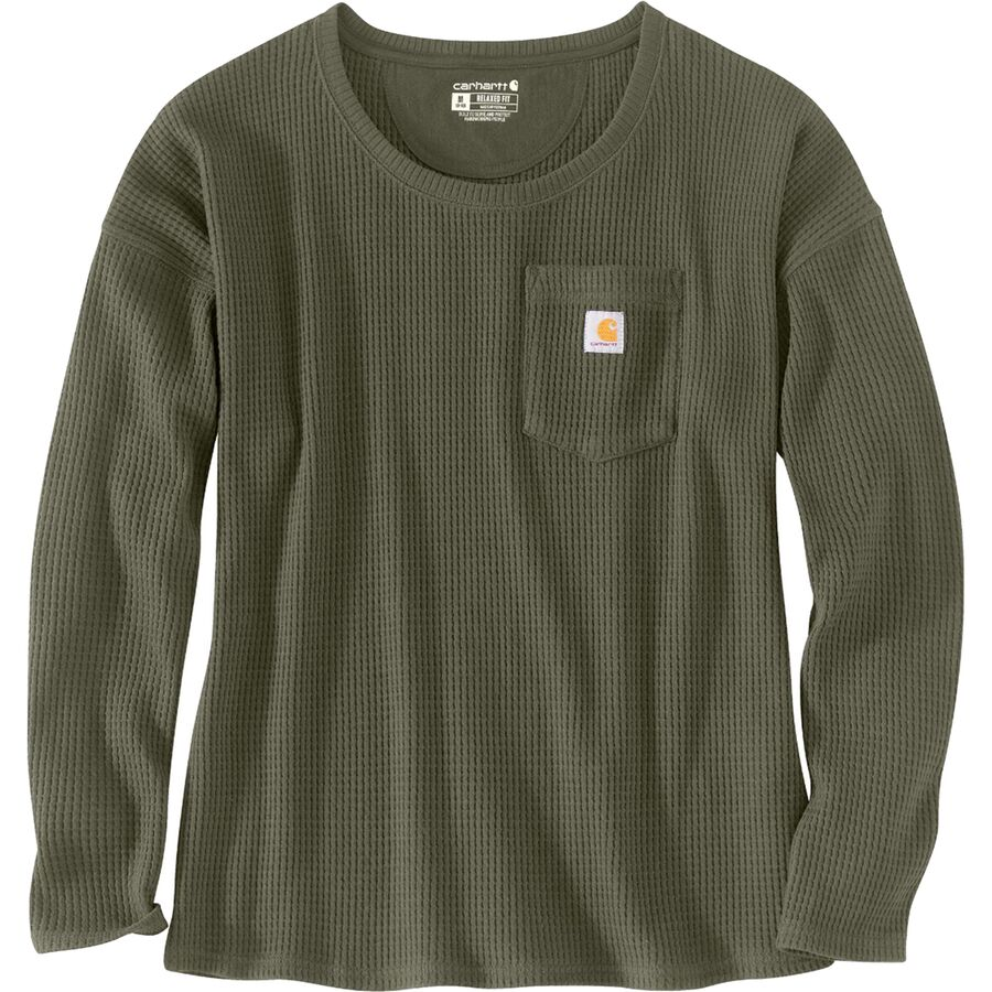 What To Pack for a Trip to New England in Fall - Carhartt Thermal Shirt