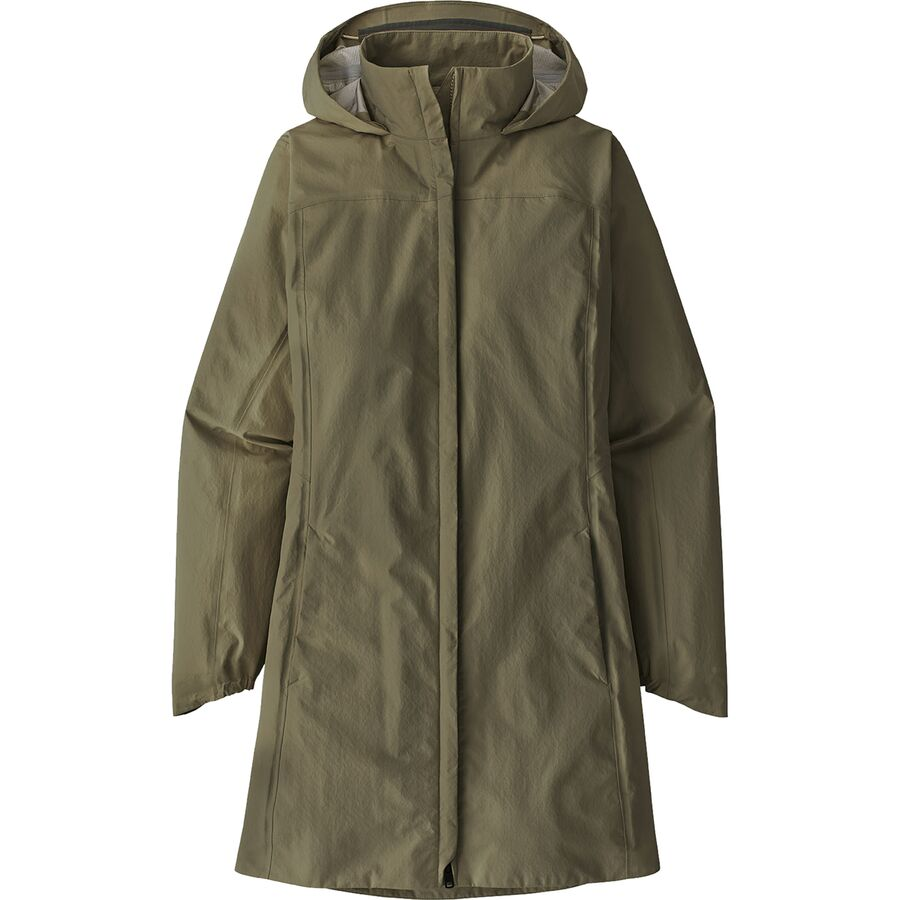 What To Pack for a Trip to New England in Fall - Patagonia Torrentshell 3L City Coat