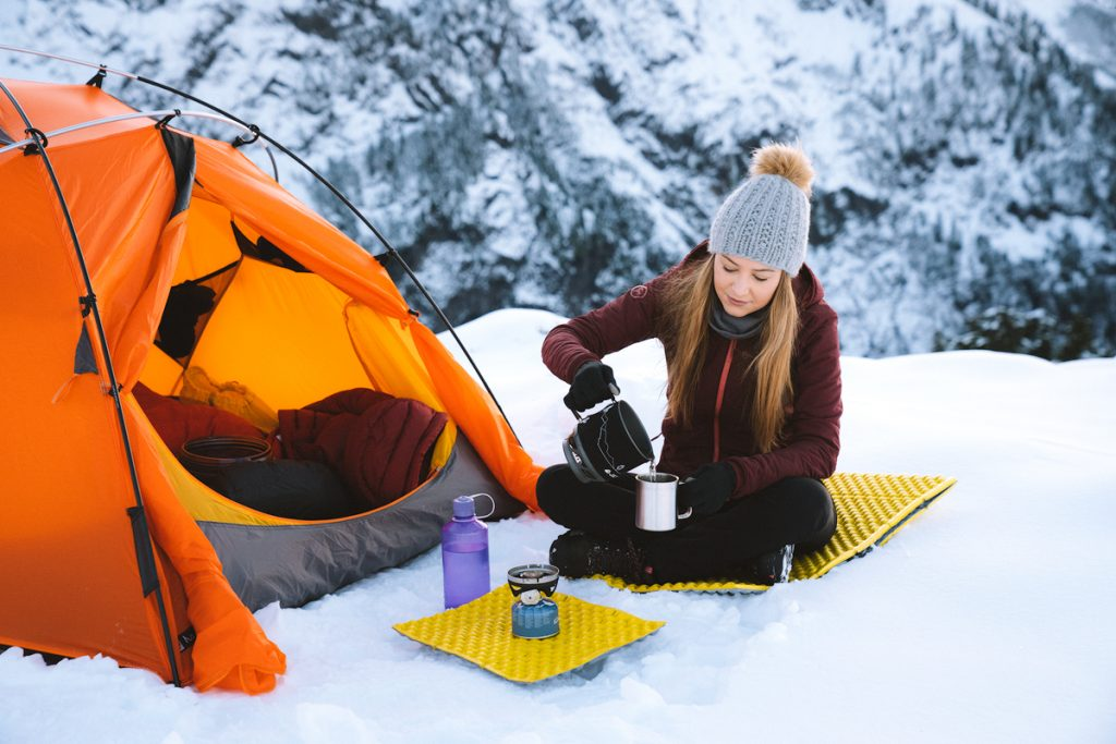 Ultimate Guide to Winter Hiking and Camping - backcountry cooking in winter