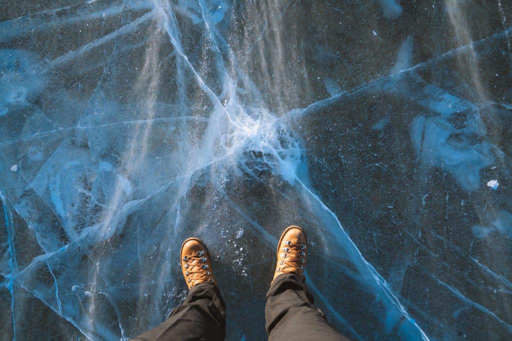 Planning a Trip toBanffin Winter - Frozen Lake - Renee Roaming
