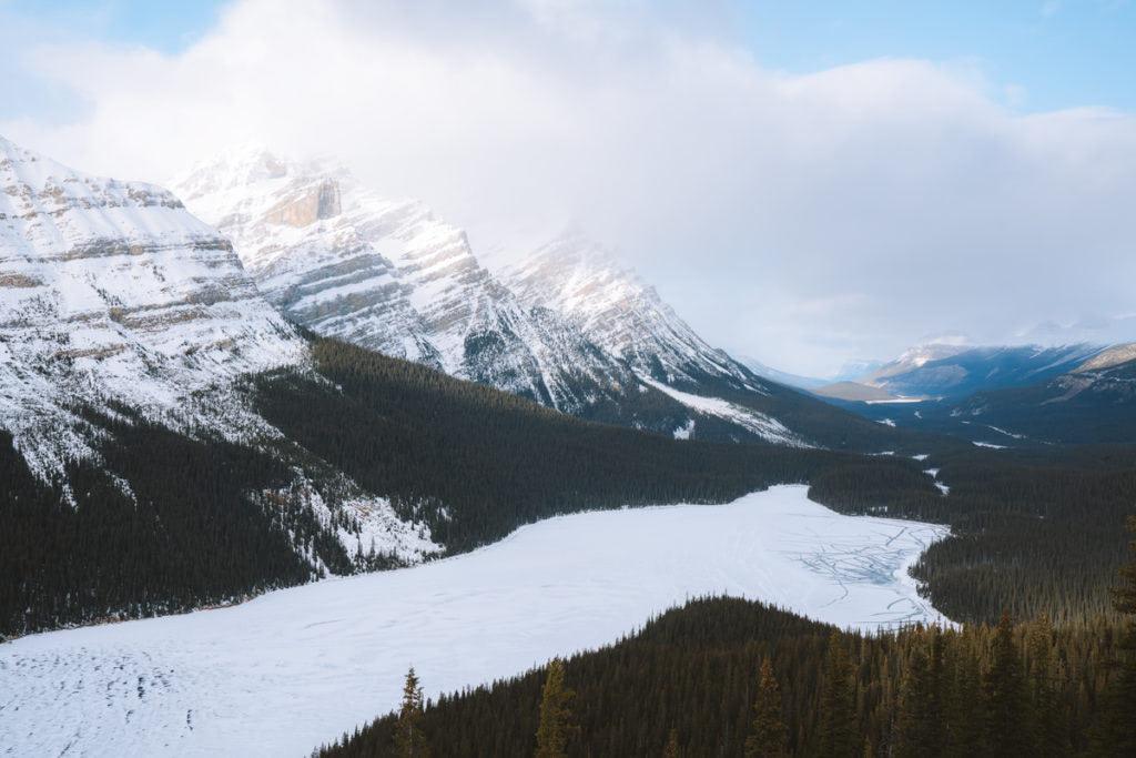 Planning a Trip toBanffin Winter - Icefields Parkway Peyto Lake - Renee Roaming