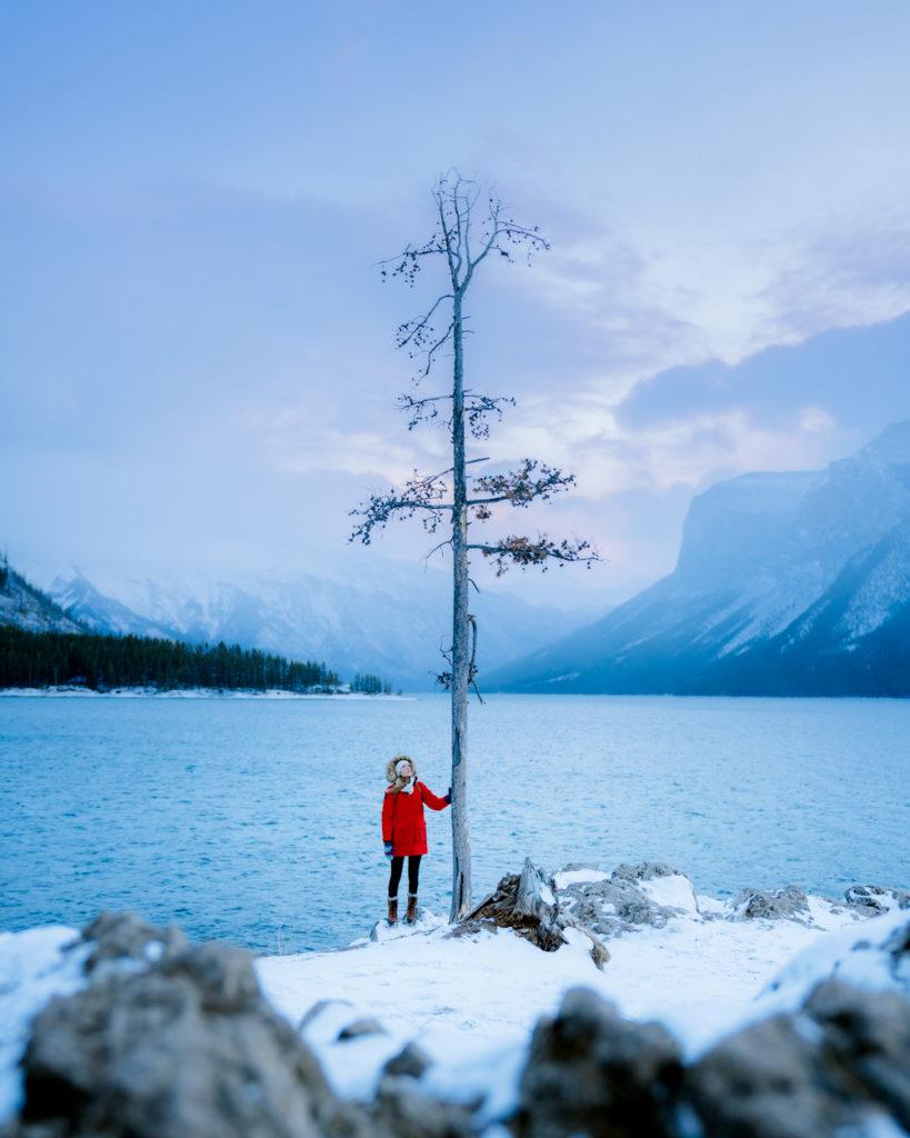Planning a Trip toBanffin Winter - Lake Minnewanka - Renee-Roaming