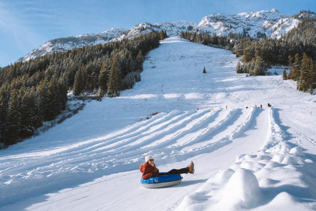 Planning a Trip toBanffin Winter - Mt Norquay Tubing - Renee Roaming