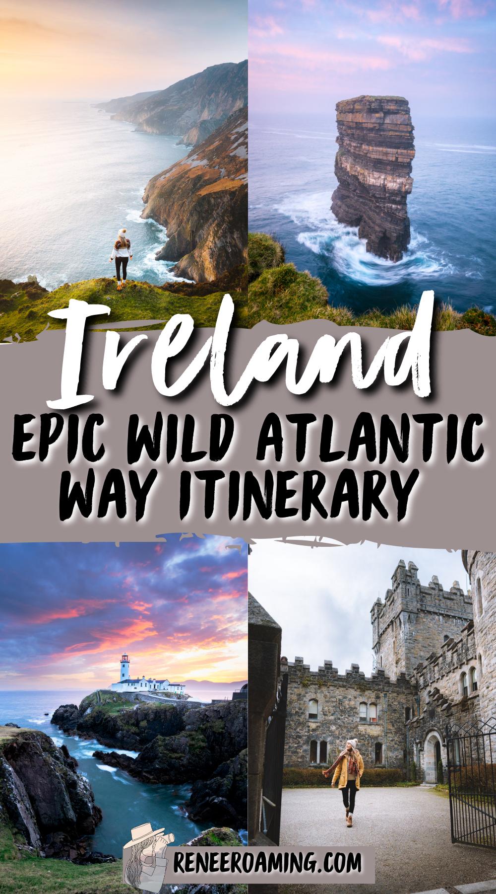 Wild Atlantic Way: Exploring Ireland\'s Breathtaking Coastal Route