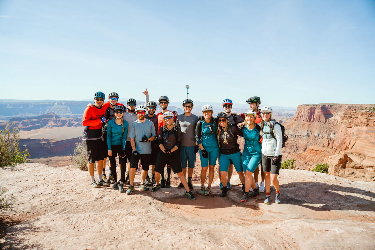 Experiencing Desert Climbing and Biking for the First Time Moab Rock Climbing with Backcountry Dead Horse Point Biking 1