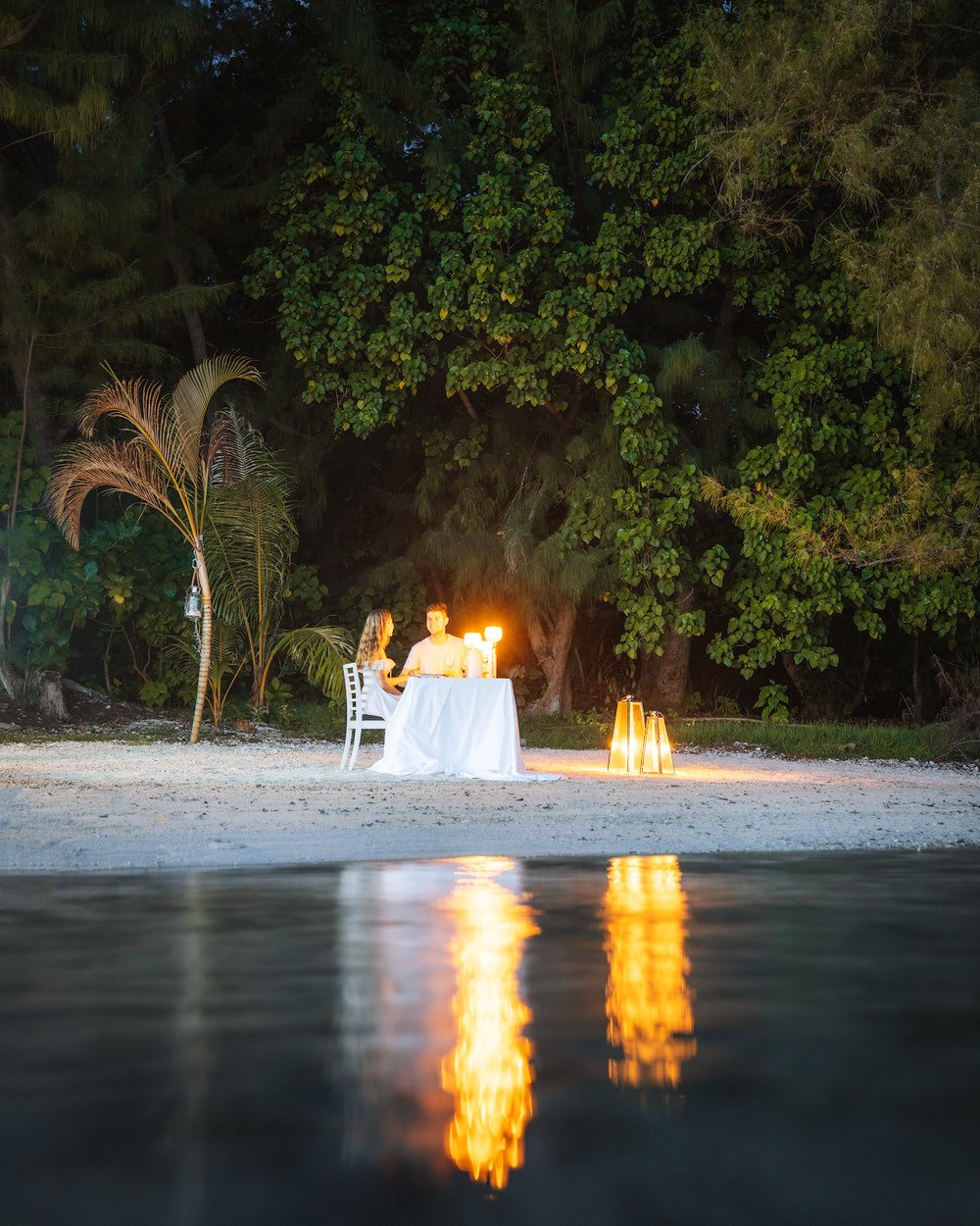 The Islands of Tahiti Moorea Romantic Motu Island Dinner 2