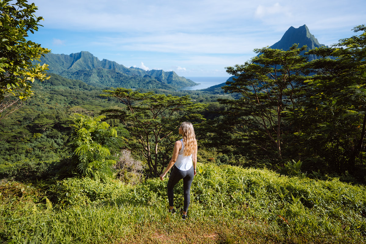 The Islands of Tahiti Moorea Three Coconuts Trail Hike