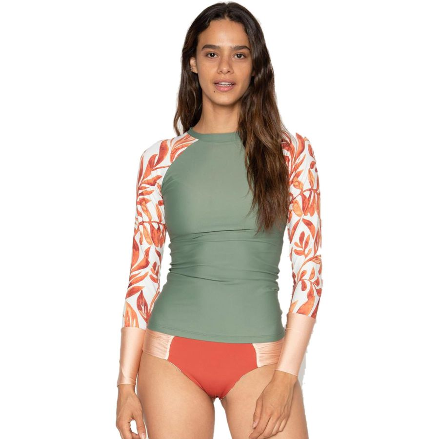 What to Pack for a Tropical Vacation to The Islands of Tahiti Seea Swimwear Doheny Long Sleeve Rashguard