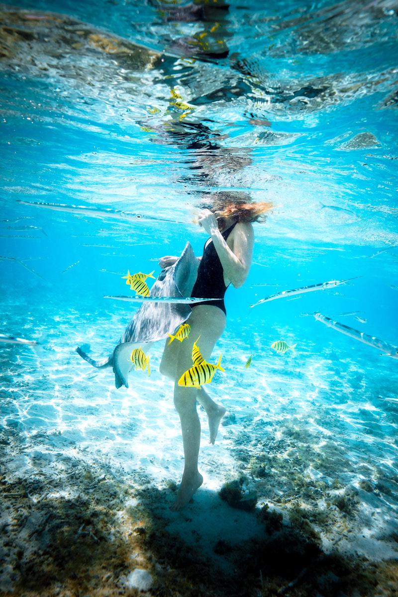The Ultimate Romantic Couples Getaway to Bora Bora French Polynesia Boat Tour 3