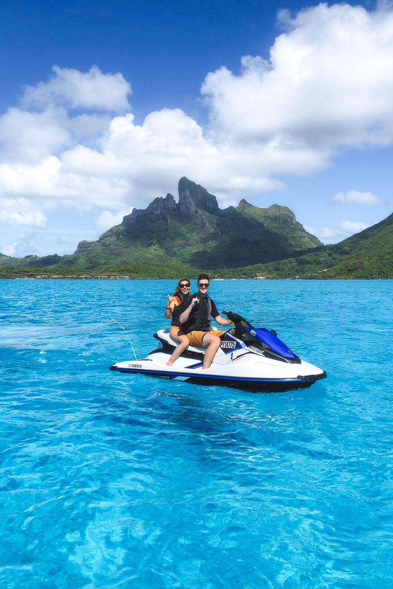 The Ultimate Romantic Couples Getaway to Bora Bora French Polynesia Jet Ski 2