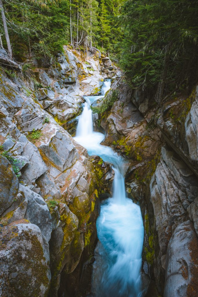 Mount Rainier National Park Guide - Everything You Need to Know - Renee Roaming - Waterfall