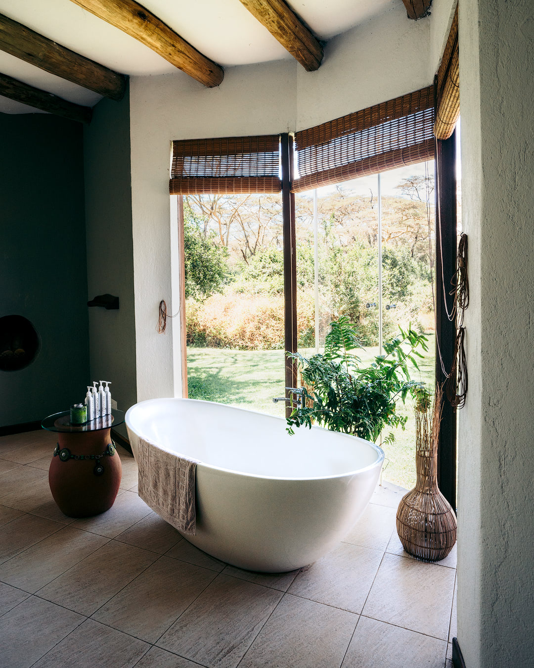 Experiencing an Incredible Luxury Safari at Solio Lodge Kenya Bathroom