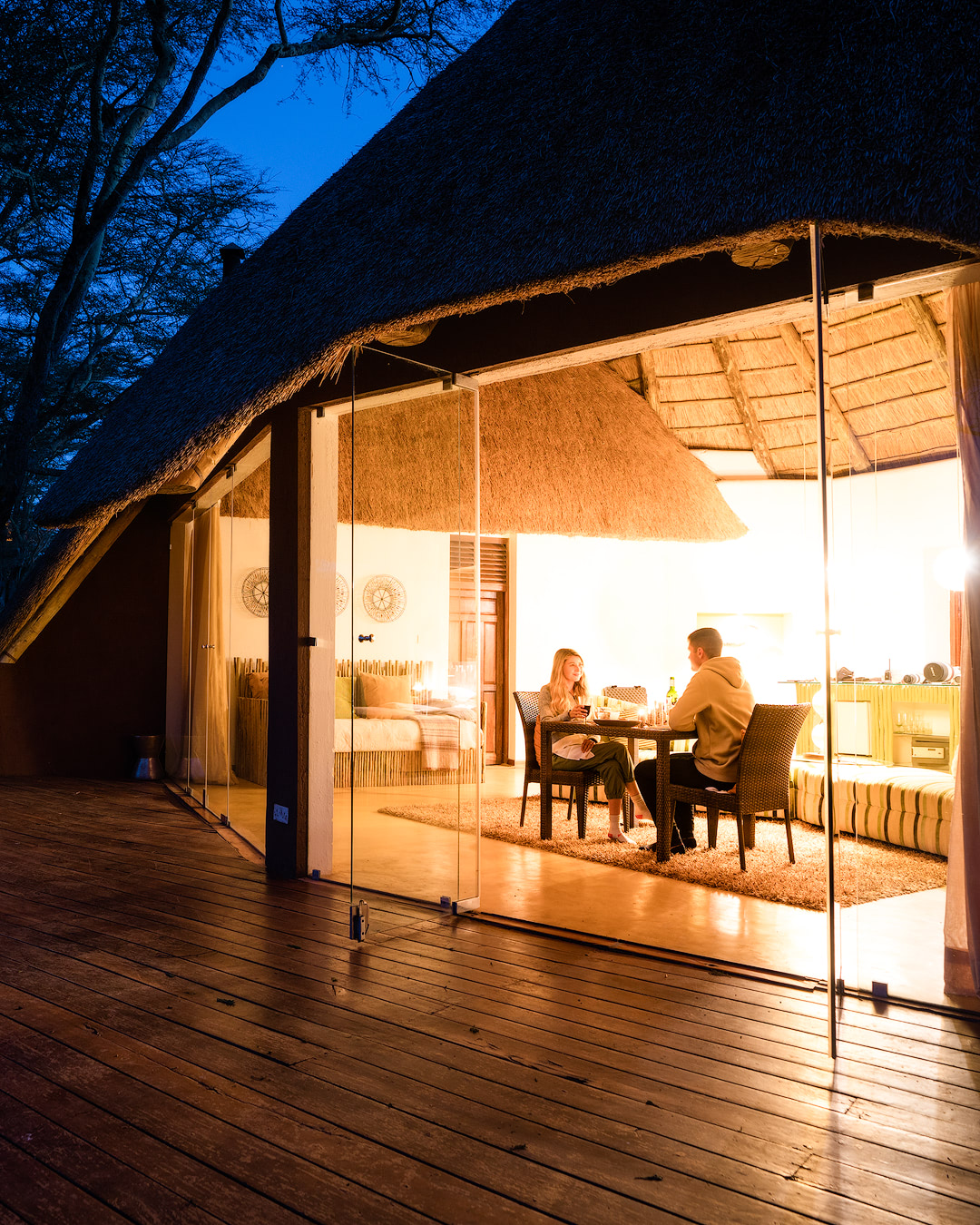 Experiencing an Incredible Luxury Safari at Solio Lodge Kenya Candlelit Dinner