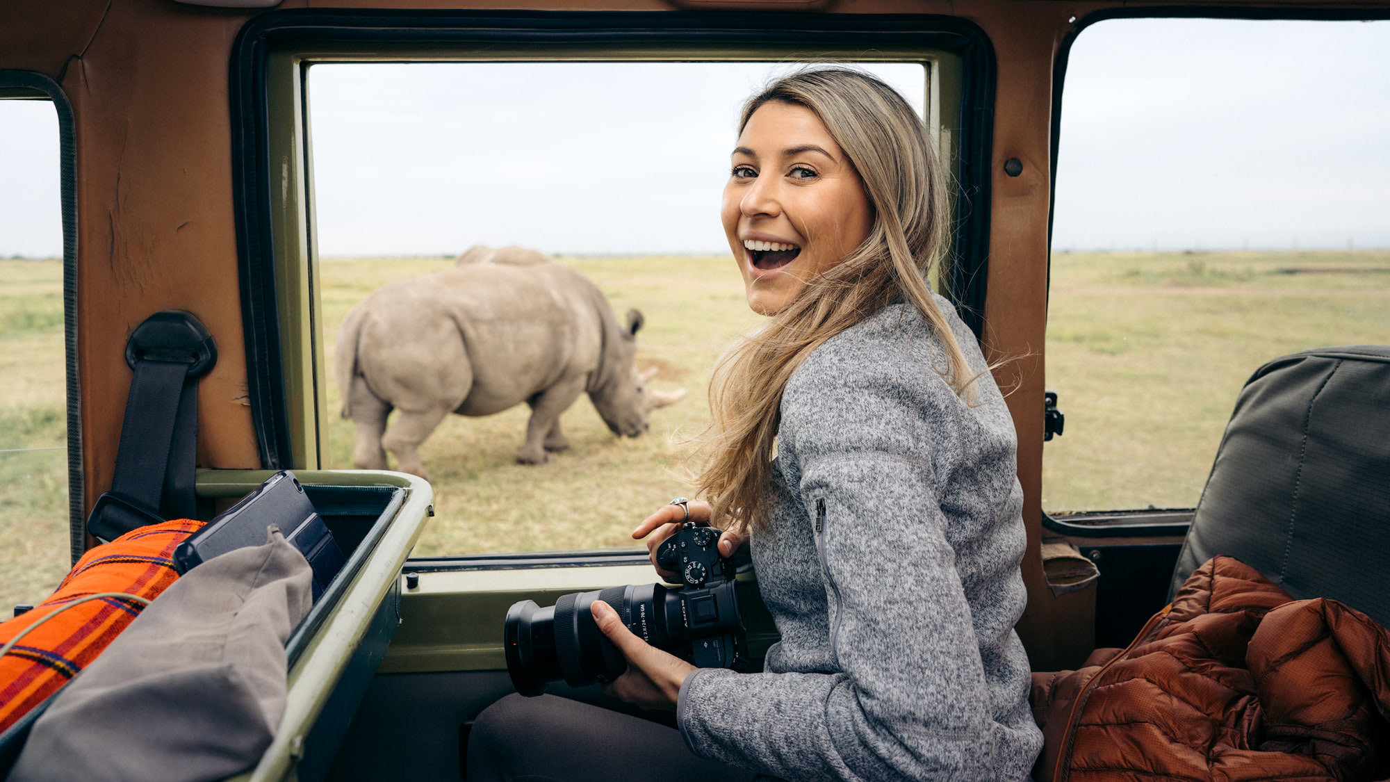 Ultimate Safari Adventure at Ol Pejeta Conservancy, Kenya