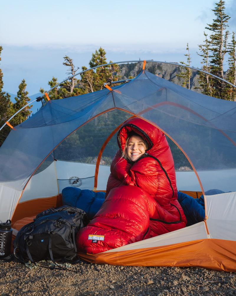 Getting a Good Nights Sleep when Backcountry Camping - Sleeping Bag