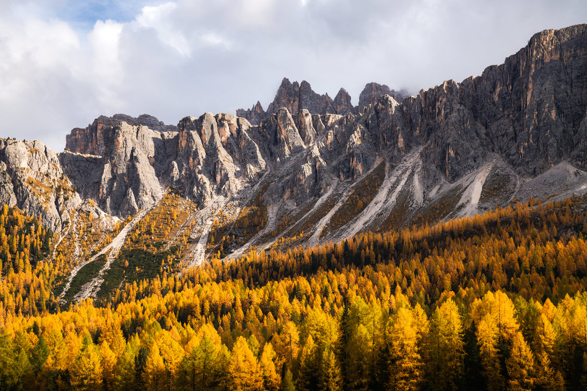 Plan the Ultimate Fall Road Trip to the Dolomites of Italy - Passo Giau