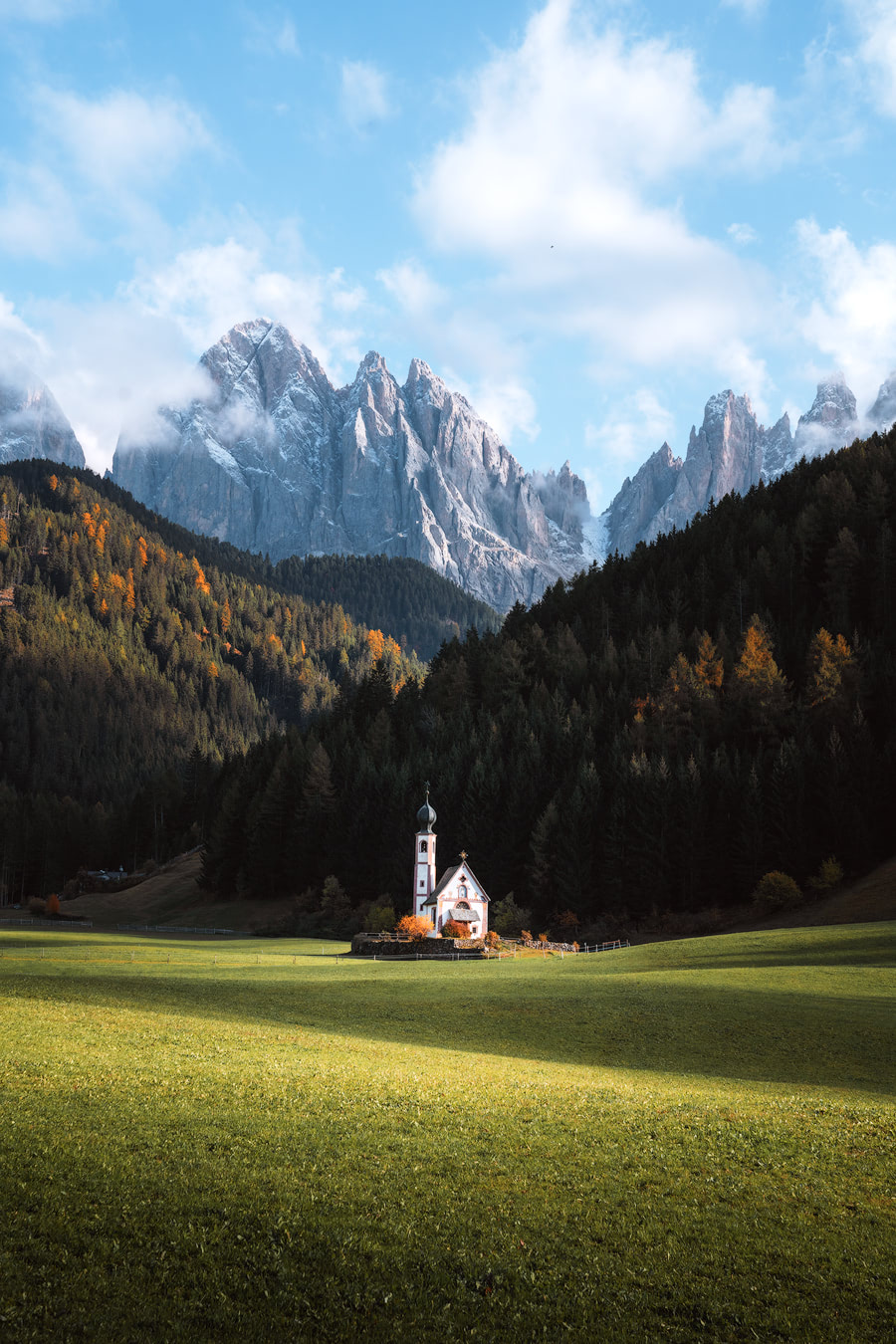 Plan the Ultimate Fall Road Trip to the Dolomites of Italy - St Johann Church 2