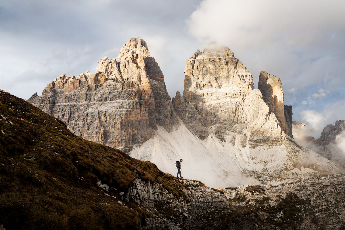 Plan the Ultimate Fall Road Trip to the Dolomites of Italy - Tre Cime Mountains