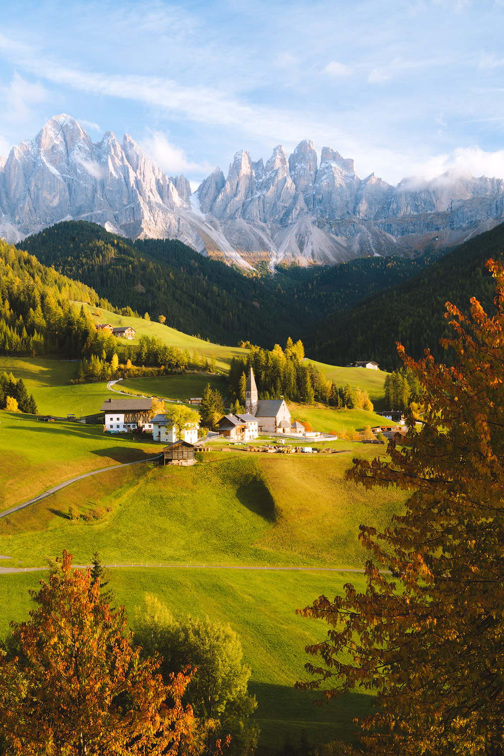 Plan the Ultimate Fall Road Trip to the Dolomites of Italy - Val Di Funes