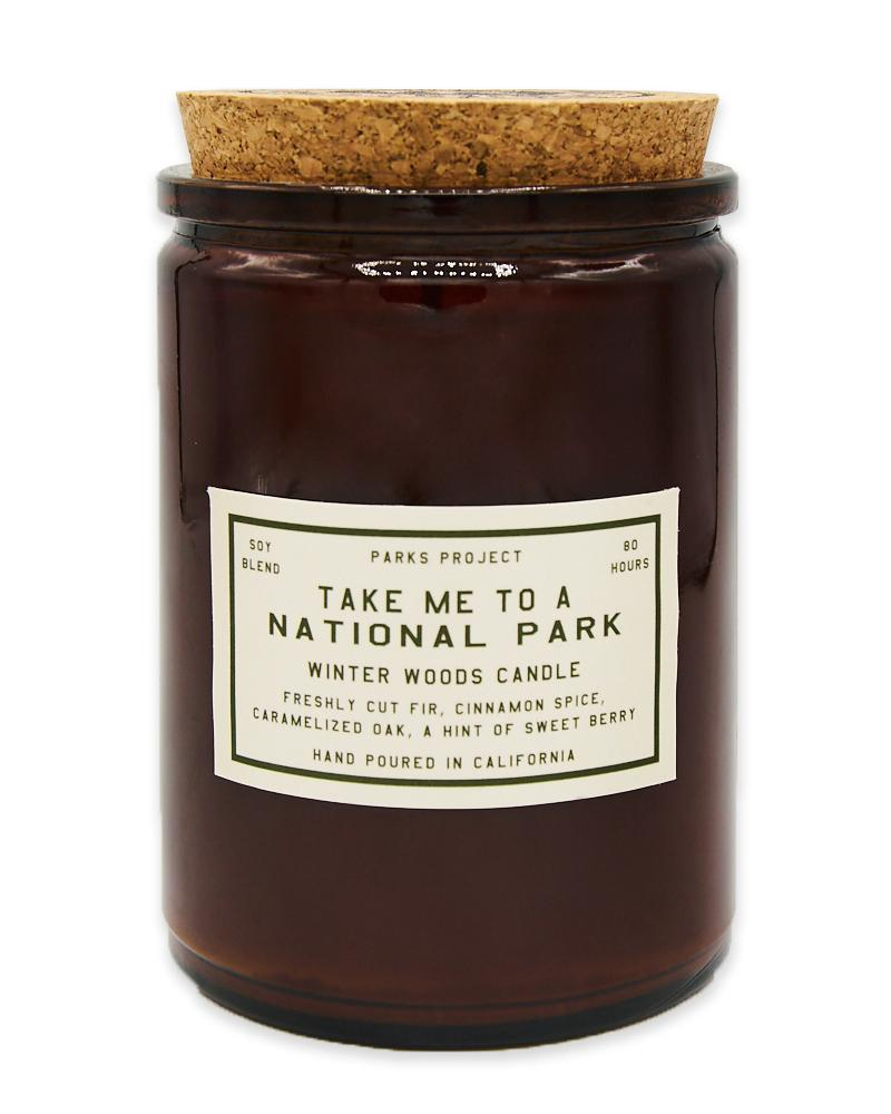 Holiday Gift Guide for National Park Lovers - Couple Gift Idea Candle