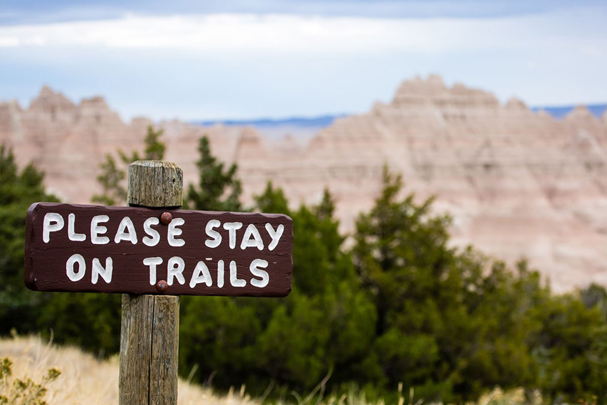 Leave No Trace The Seven Principles - Stay On Trails