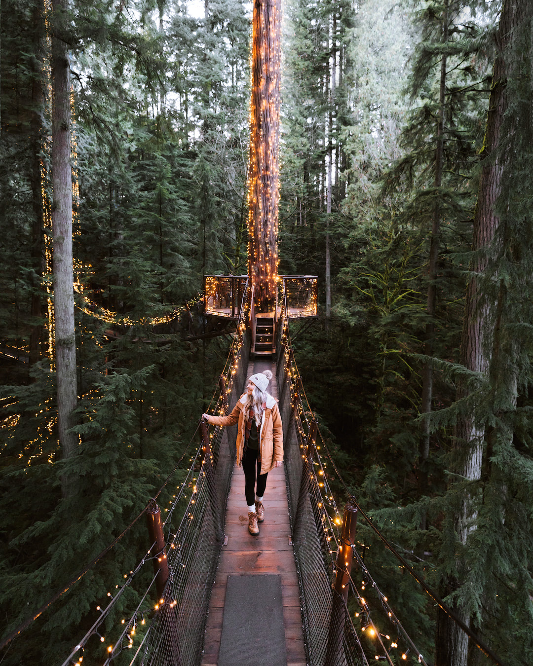 Meaningful Experiences and Eco-Friendly Gift Guide for Outdoor Lovers - Capilano Suspension Bridge