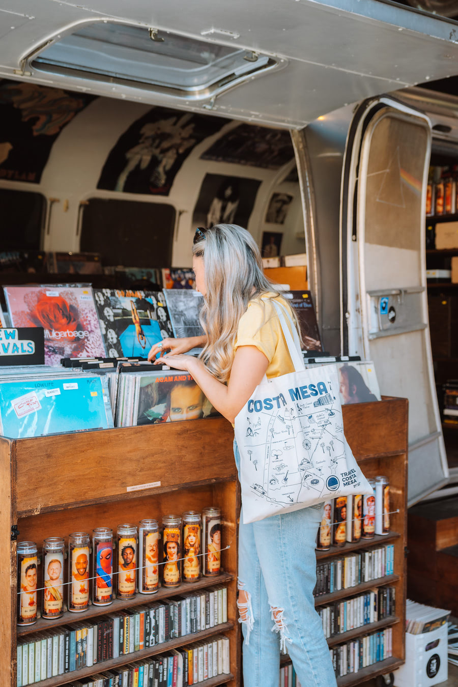 Orange County Travel Guide Everything You Need to Know- Costa Mesa The Lab Record Store