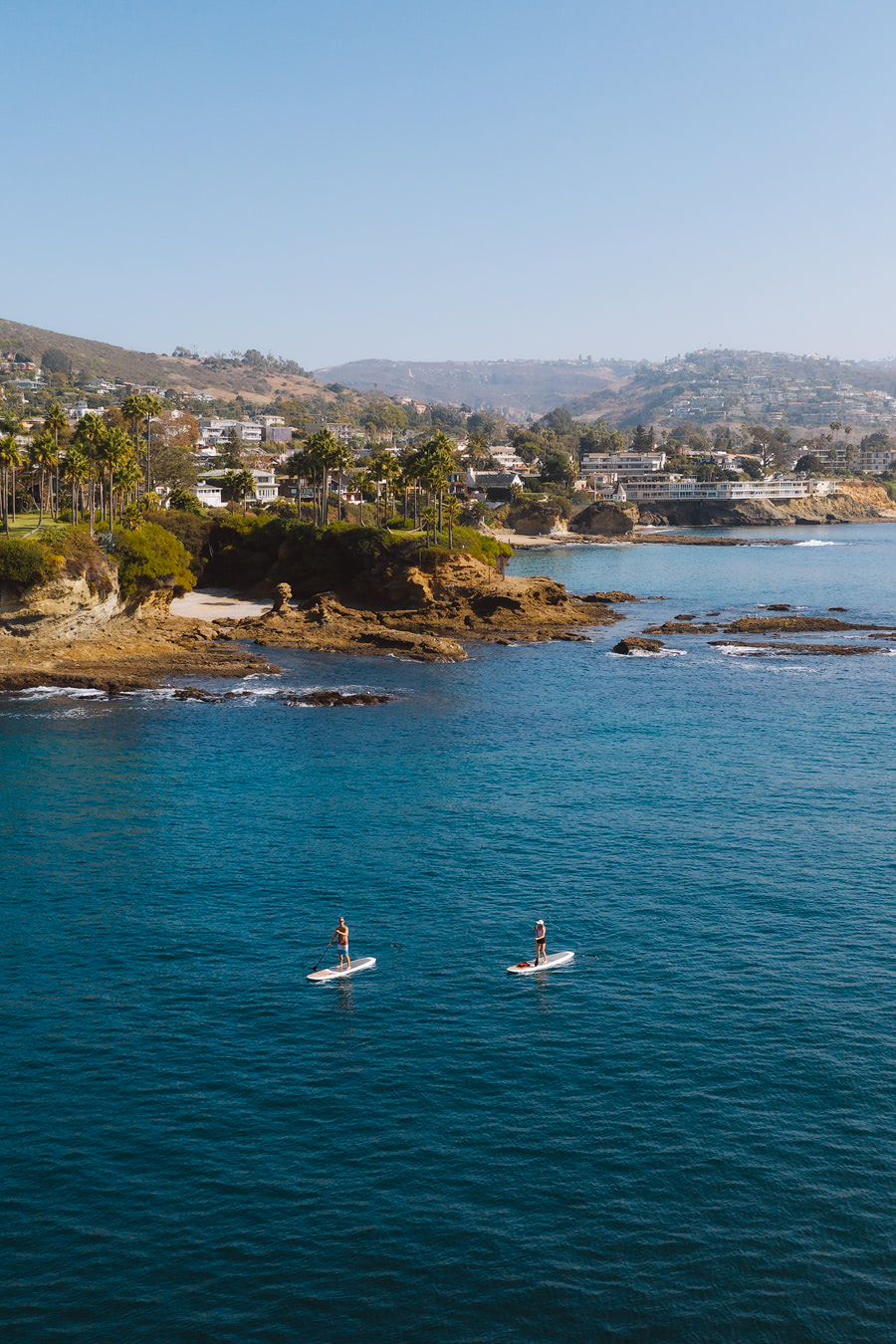 Orange County Travel Guide Everything You Need to Know- Laguna Beach SUP Aerial 3
