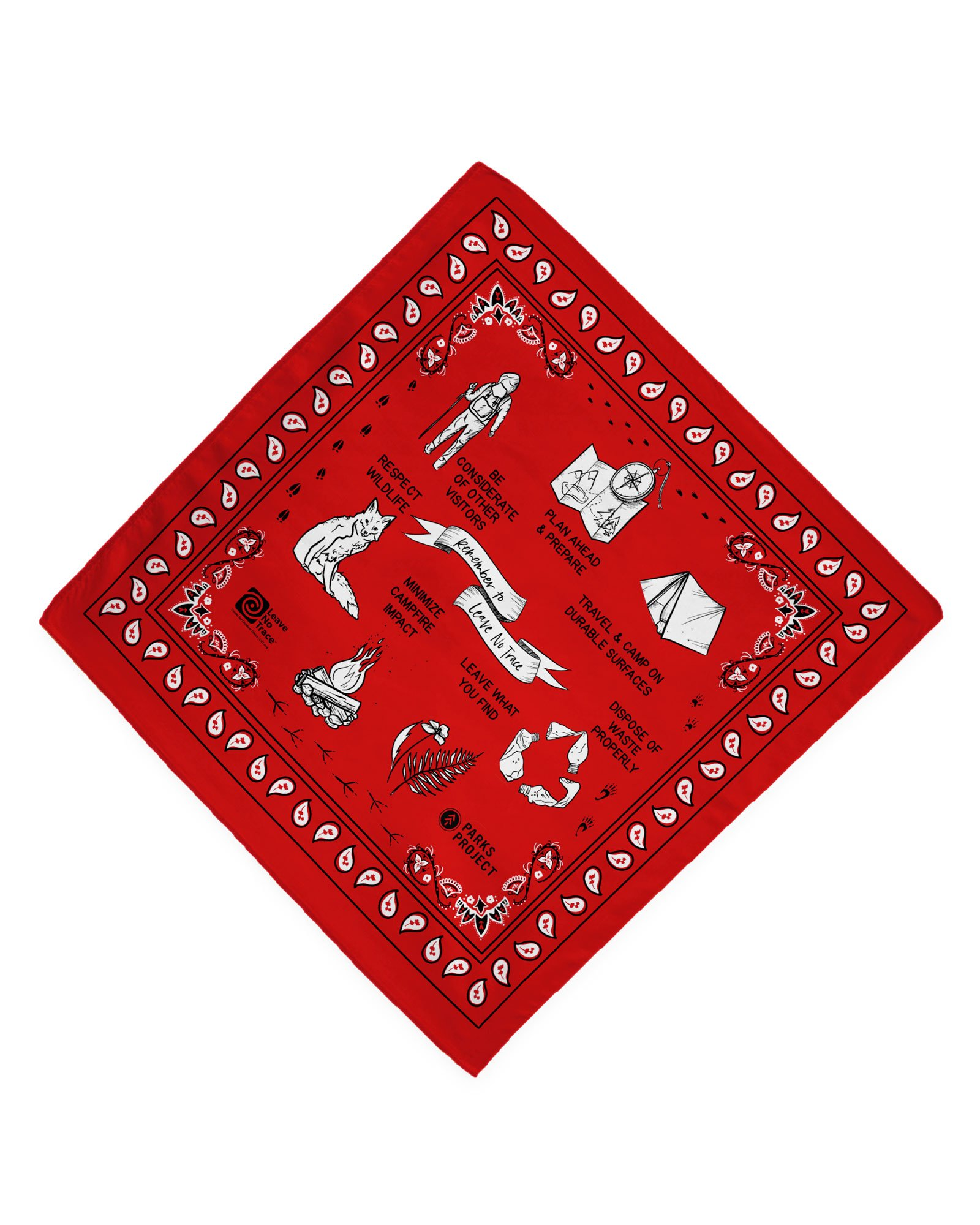 Holiday Gift Guide for National Park Lovers - Bandana