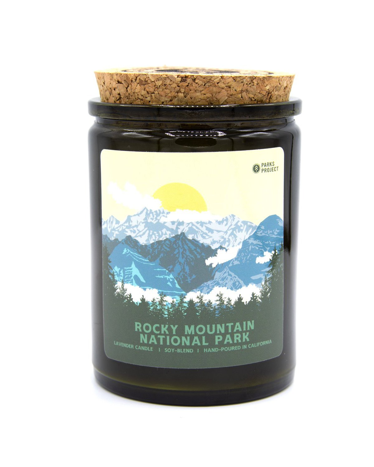 Holiday Gift Guide for National Park Lovers - Candle RMNP