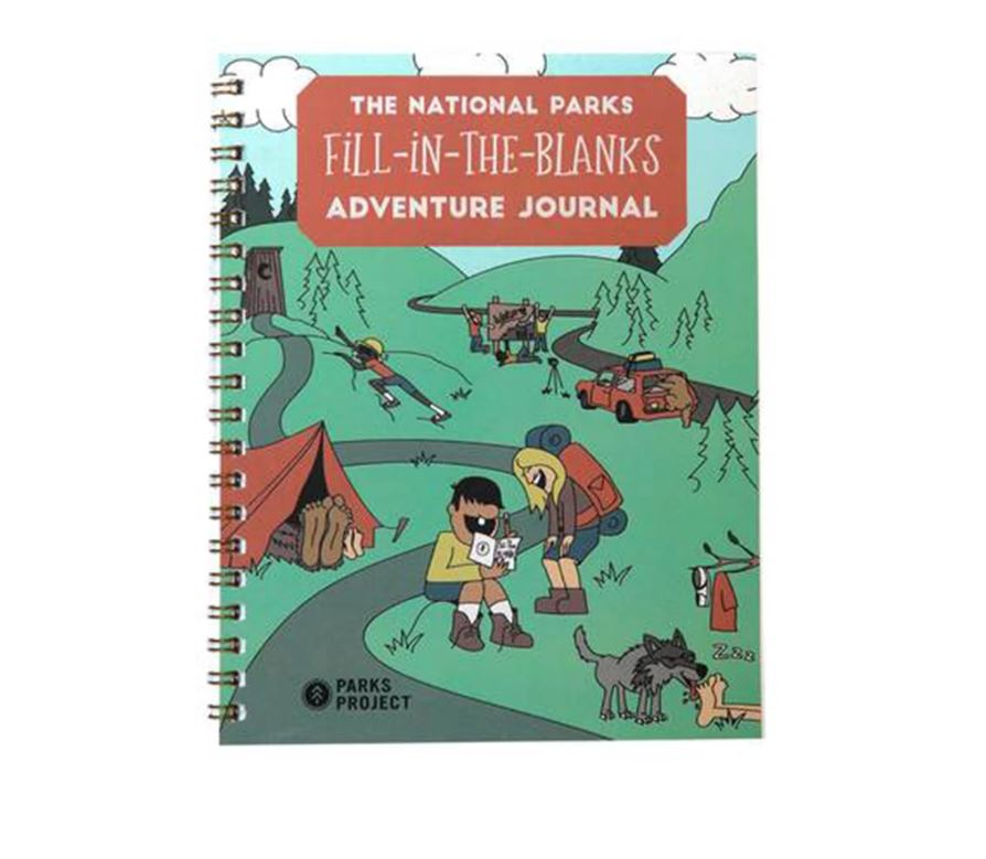Holiday Gift Guide for National Park Lovers - Kids Adventure Journal