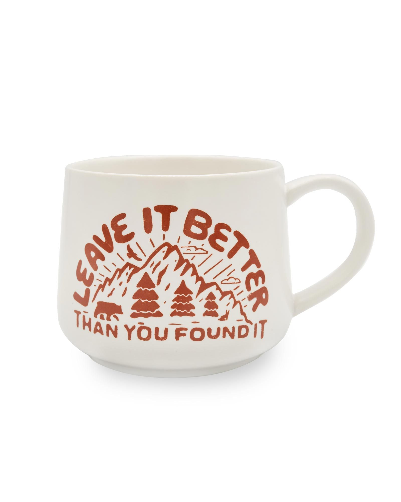 Holiday Gift Guide for National Park Lovers - LNT Mug