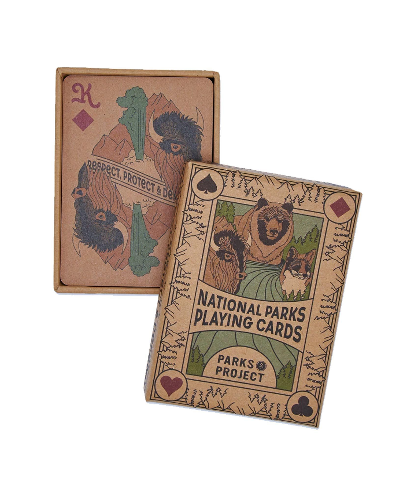 Holiday Gift Guide for National Park Lovers - Playing Cards
