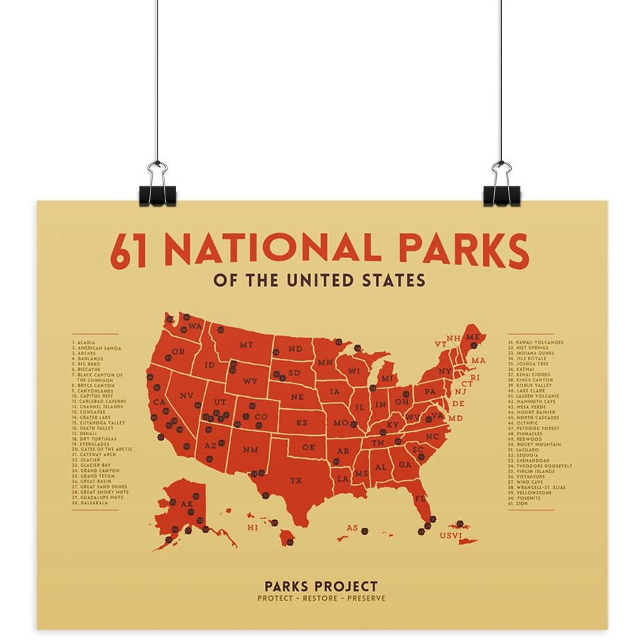 Holiday Gift Guide for National Park Lovers - Poster