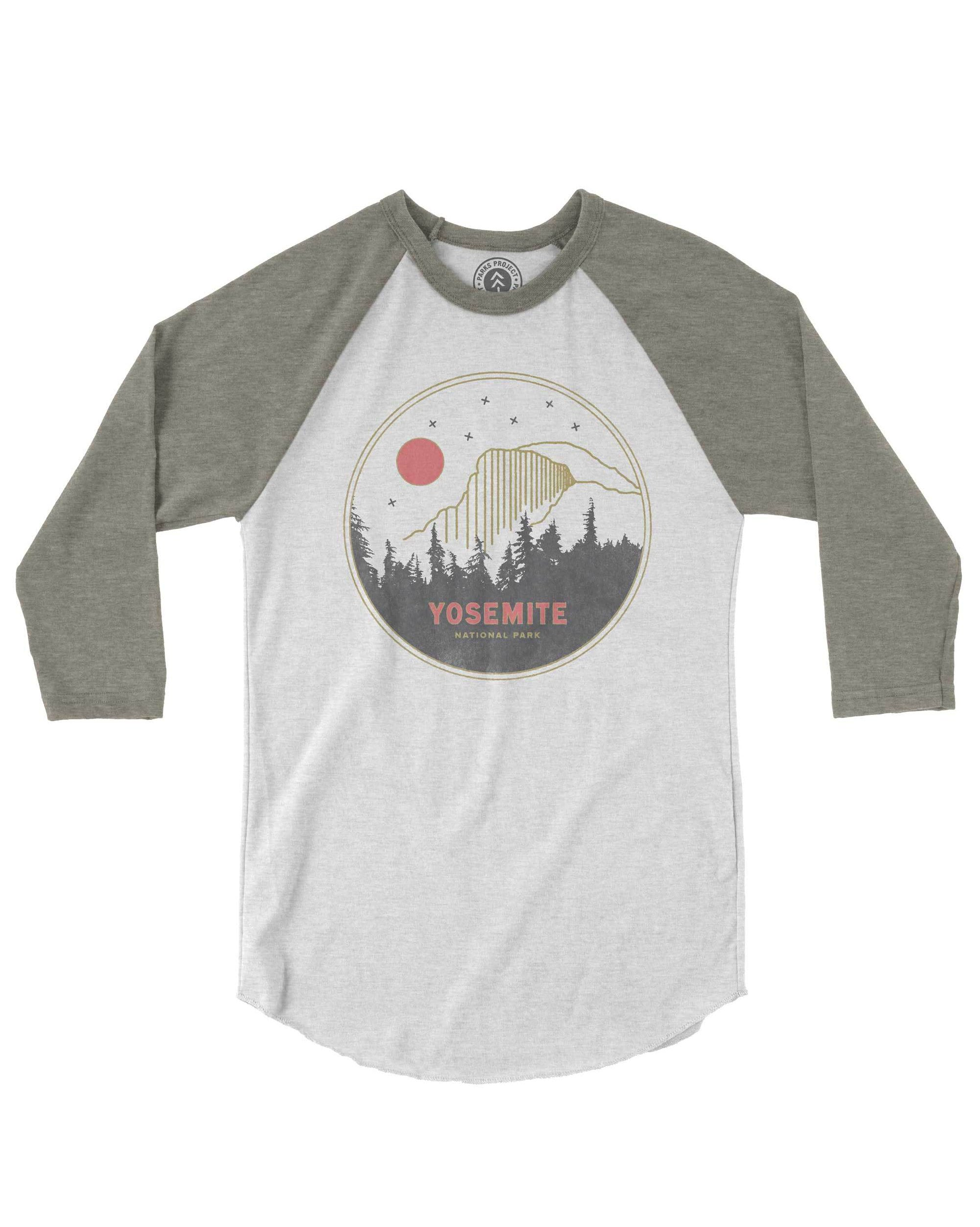 Holiday Gift Guide for National Park Lovers - Yosemite Raglan