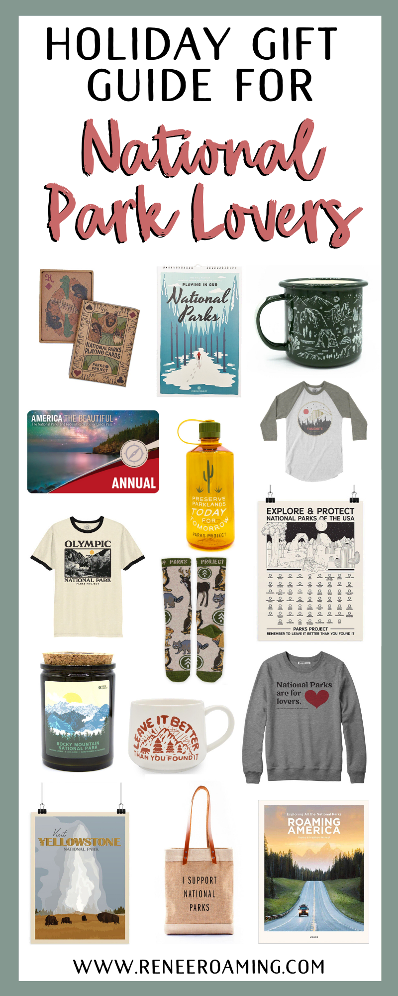 Holiday Gift Guide for the National Park Lovers in Your Life