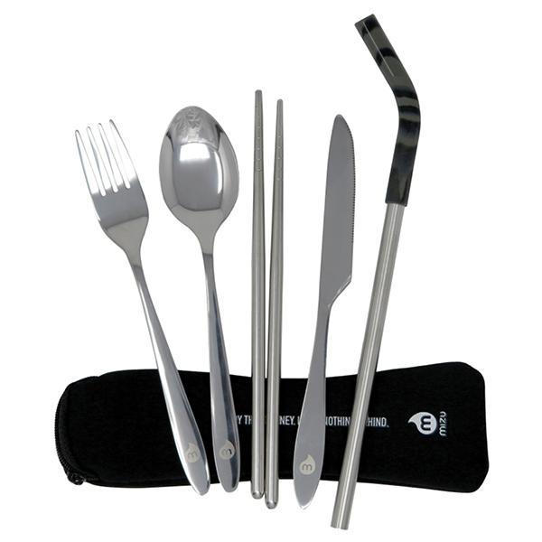 Eco-friendly Travel Essentials Mizu Cutlery Set