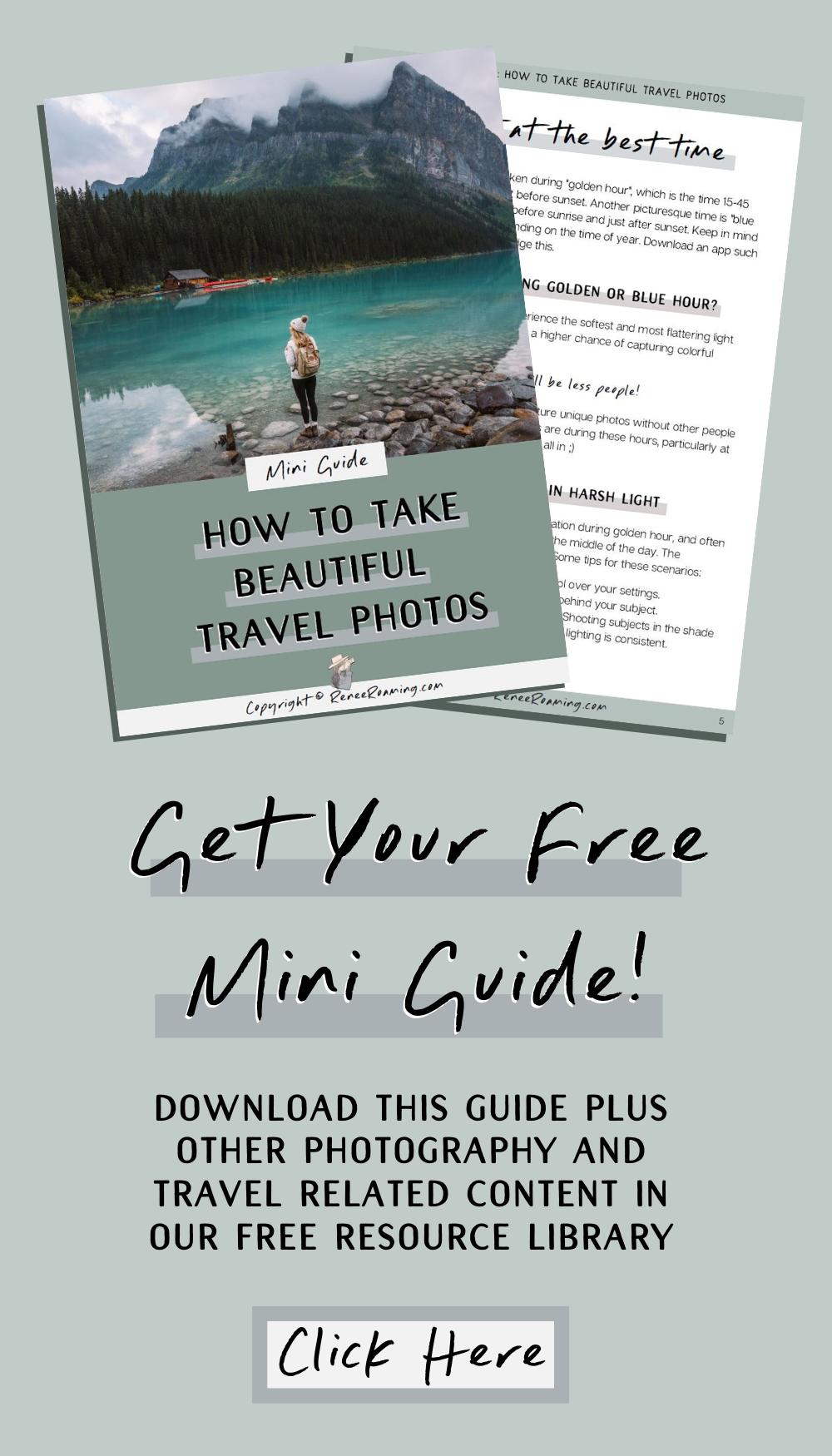 how to take travel photos