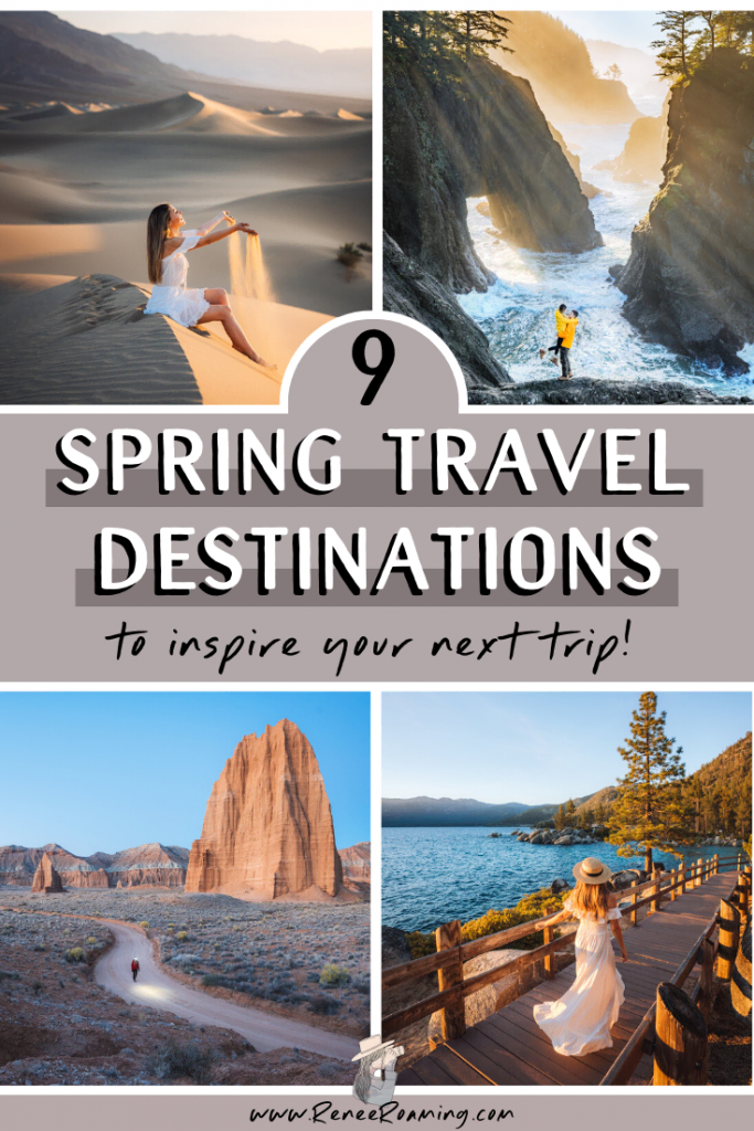 9 Spring Travel Destinations to Add to Your Bucket List