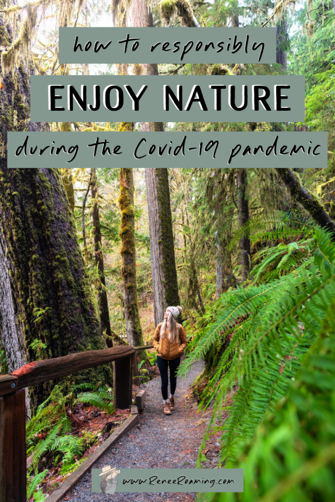 How To Responsibly Enjoy Nature During the COVID-19 Pandemic