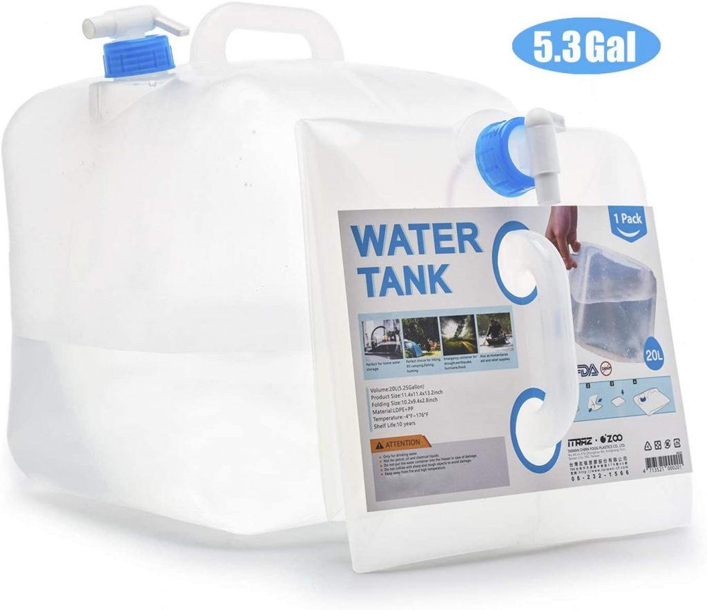 Reusable water jug