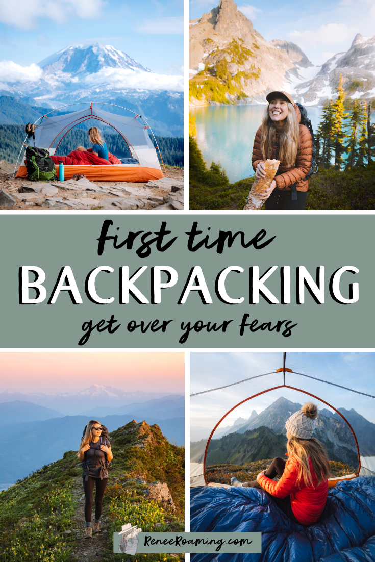 I'm guessing that you've come across this blog post because you're thinking of taking your first backpacking trip? It's totally normal to have some fears or be confused about where to start! Scared about wildlife and getting lost? I've got you covered. We will chat about that. Confused about what gear to pack? Don't worry, I will walk you through it all! In this guide I will share everything you need to know about backcountry camping! #backpacking #camping #backcountrycamping